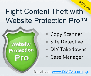 Protection de contenu via DMCA