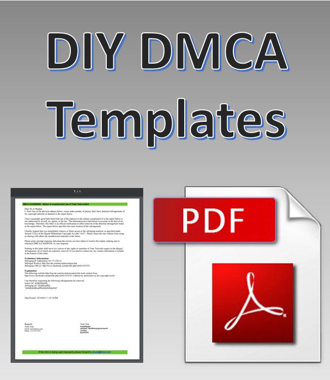 DMCA Takedown Notice Generator
