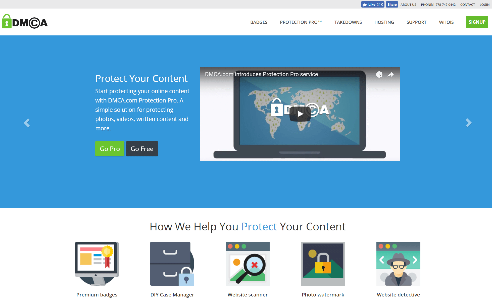 Dmca: DMCA Website Protection Pro™